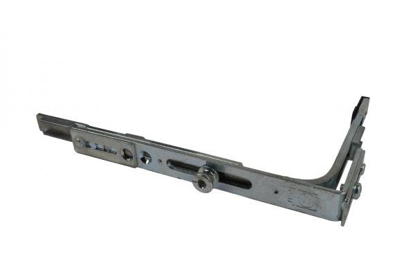 SCHÜRING Eckumlenkung Nr. 19, für Kunststoff-Fenster mit Pilzkopf, 149x40 mm