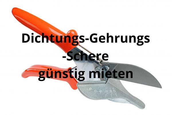 Gehrungs-Schere zur Miete (Miete 17 € pro Woche|Kaution 50 € pro Schere)