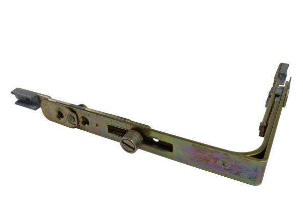 AUBI Eckumlenkung U201, für Holz- / Kunstst.-Fe., generalüberholt, Schenkellä. 135x100mm, mit Bolzen lange Seite