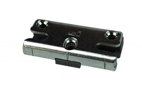 SIEGENIA Schließstück ES1660, für Kunststoff-Fenster, für Pilzkopfverschluss