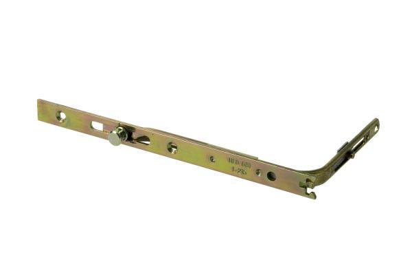 GU Eckumlenkung UF 8-681, links/rechts verwendbar, mit Pilzkopf, L=215mm, für Holz-/Kunst.-Fe., silber