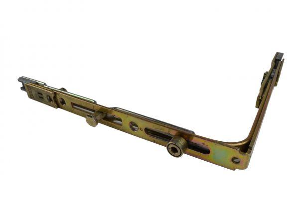 AUBI Eckumlenkung UM880, für Holz- / Kunstst.-Fe., Schenkellä. 187x1533mm, mit Bolzen lange Seite