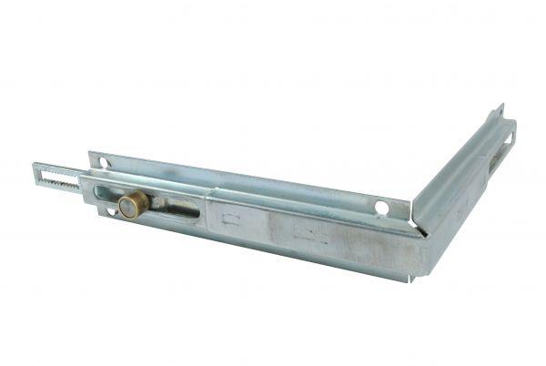 ROPLASTO Eckumlenkung 150x150mm, 1 Rollzapfen, für Zahnstange, generalüberholt
