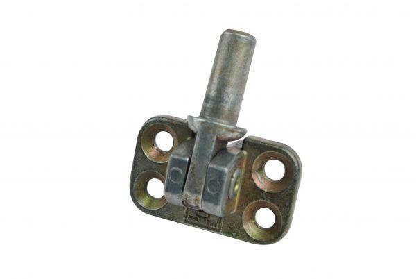 Siegenia Ecklager, für Holz- und Kunststoff-Fenster, L=23mm B=38mm, generalüberholt