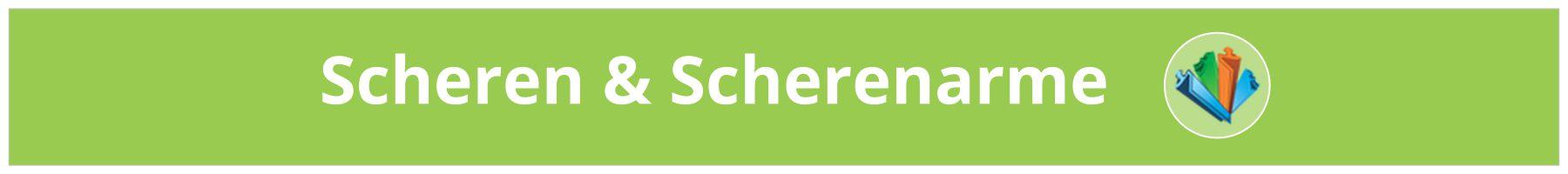 Scheren & Scherenarme