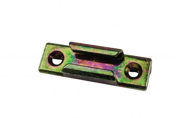 SIEGENIA Schließstück ES1700, für Kunststoff-Fenster, für Pilzkopfverschluss