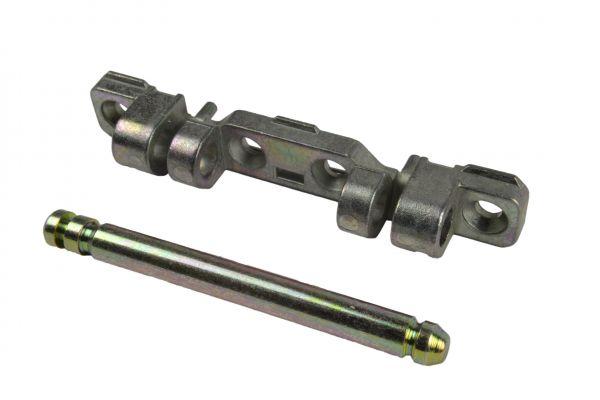 SCHÜRING Scherenlager mit Stift Nr. 13, für Kunststoff-Fenster Nr.12660, L=90mm, verzinkt