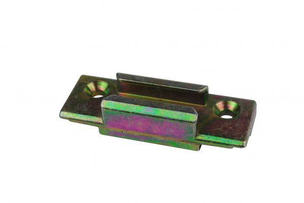 SIEGENIA Schließstück ES2100, für Kunststoff-Fenster, für Pilzkopfverschluss