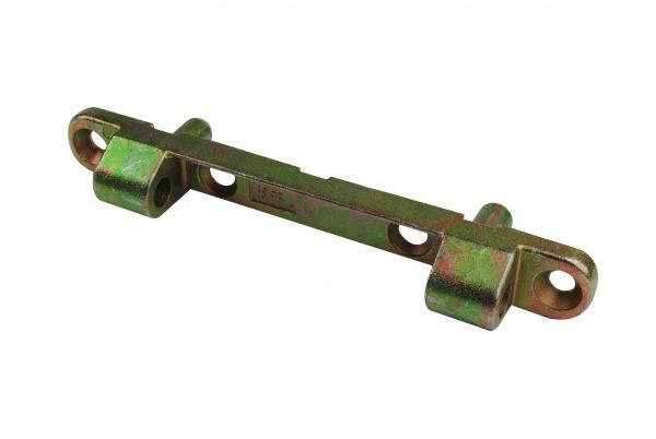 Siegenia Scherenlager 0073, für Holz- und Kunststoff-Fenster, L=108mm, Bolzenabstand 64mm, generalüberholt