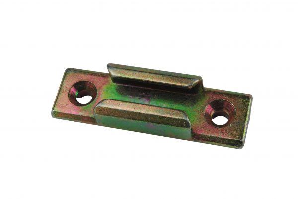 SIEGENIA Schließstück ES1180, für Kunststoff-Fenster, für Pilzkopfverschluss
