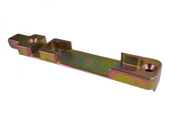 SIEGENIA Kippschließstück 2580, Material: Stahl, gelb verzinkt