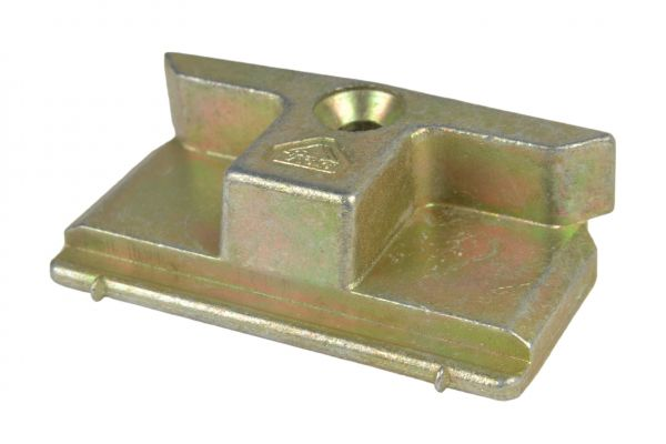 ROTO Schließstück 6482339500, für Kunststoff-Fenster, gelb verzinkt, links und rechts verwendbar