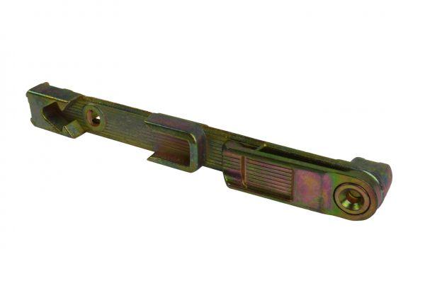 SCHÜRING Kantenriegel / Stulpverschluss Nr. 36, für Kunststoff-Fenster Nr.12049, L=152mm