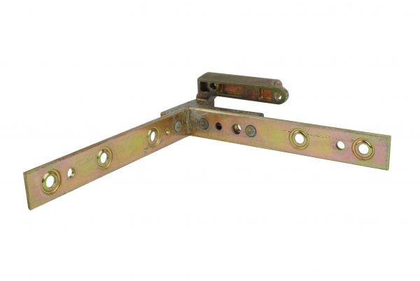 Siegenia Falzeckband mit DIN L, gleichschenklig, 122x122mm, generalüberholt