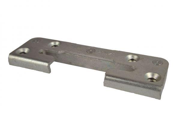 Siegenia Sicherheits-Schließstück 2040, zum Kippen und Schließen, Material: Stahl
