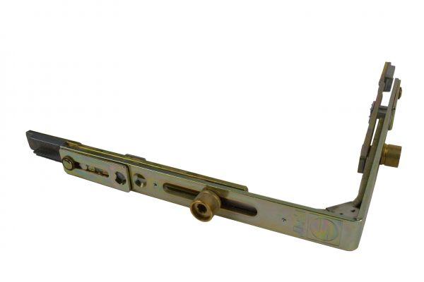 SCHÜRING Eckumlenkung Nr. 51, für Kunststoff-Fe. mit 2 Rundbol., gleichschenk., 149x149 mm