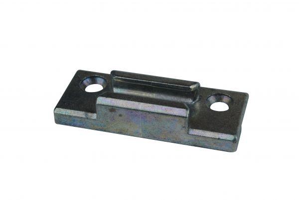 SIEGENIA Schließstück ES2260, für Kunststoff-Fenster, für Pilzkopfverschluss