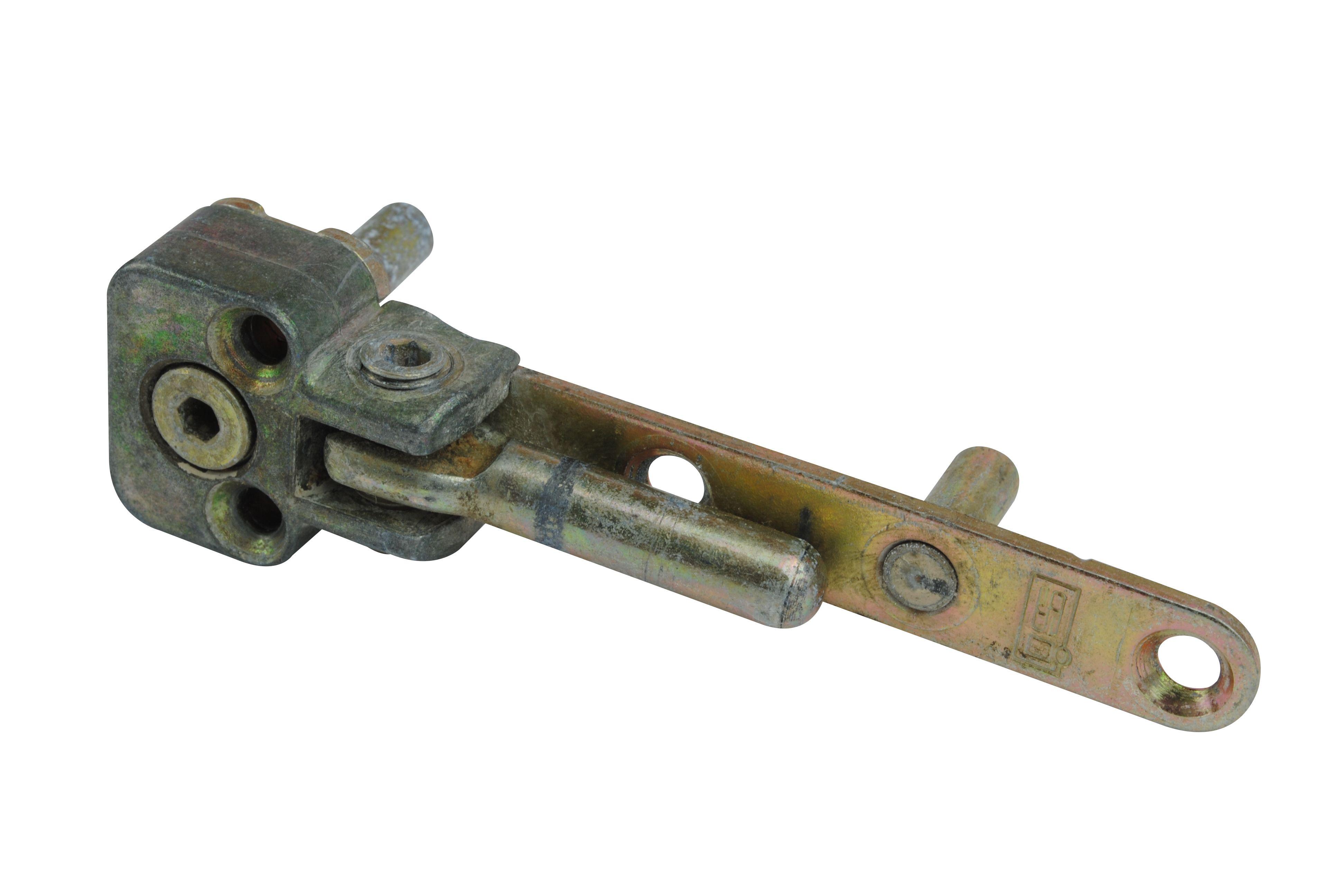 Roplasto Getriebe Beschlag mit Lochstangenaufnahme für alte Kunststoff-Fenster