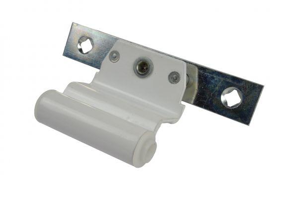 SCHÜRING Drehband Nr. 21, für Kunststoff-Fenster, Farbe weiß, Maß für Scherenlager 50mm