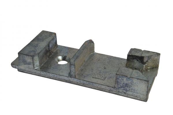 AUBI Kippschließstück 4A83558, für Holz-/Kunststoff-Fenster, gebraucht