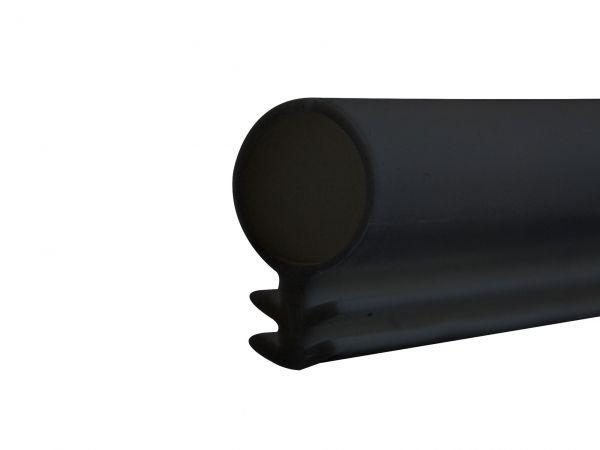 5m (2€/m) Silikonschlauchdichtung für Holz-Fenster, Nut 3mm , ⌀10mm, 3 Farben