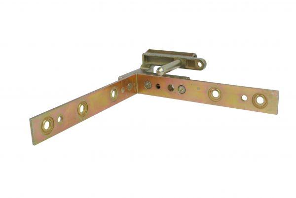 Siegenia Falzeckband, mit einem Bolzen, DIN L, gleichschenklig, 122x122mm, generalüberholt
