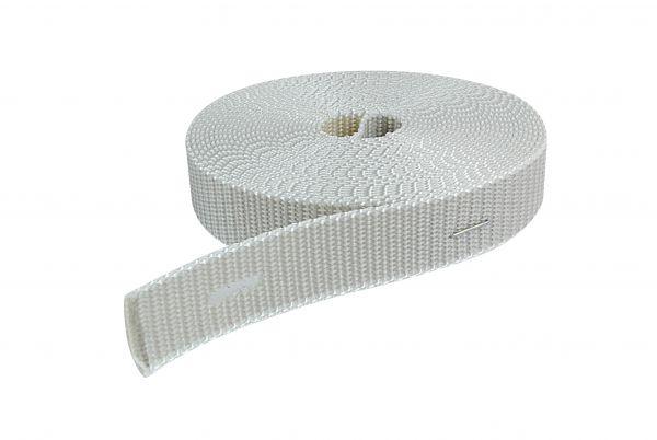 Rollladengurt für Türen, 2-farbig beige / Hellgrau, Länge: 6m