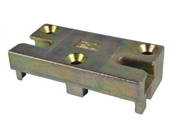 Siegenia Sicherheits-Schließstück 1980, zum Kippen und Schließen, Material: Stahl