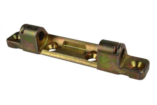 ROTO Scherenlager Nr. 6596563100, für Li./Re.,Lä. 93mm, Lenkerwi. Zwi.maß 40mm, gelb verzinkt