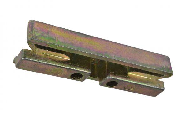 ROTO Schließstück 6482363000, für Holz- / Kunststoff-Fe., generalüberholt, gelb verzinkt, links / rechts verwendbar