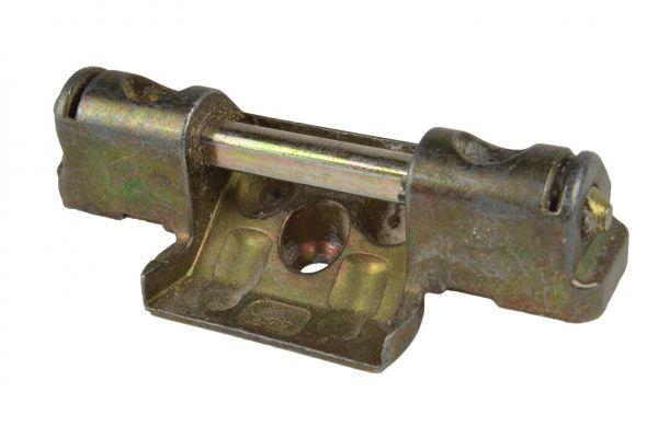 ROTO Scherenlager Nr. 6596564300, für Li./Re., 2 Bolzen, Lä. 72mm, Lenkerwi. Zwi.maß 28mm, Farbe: silber, für Holz 12/18